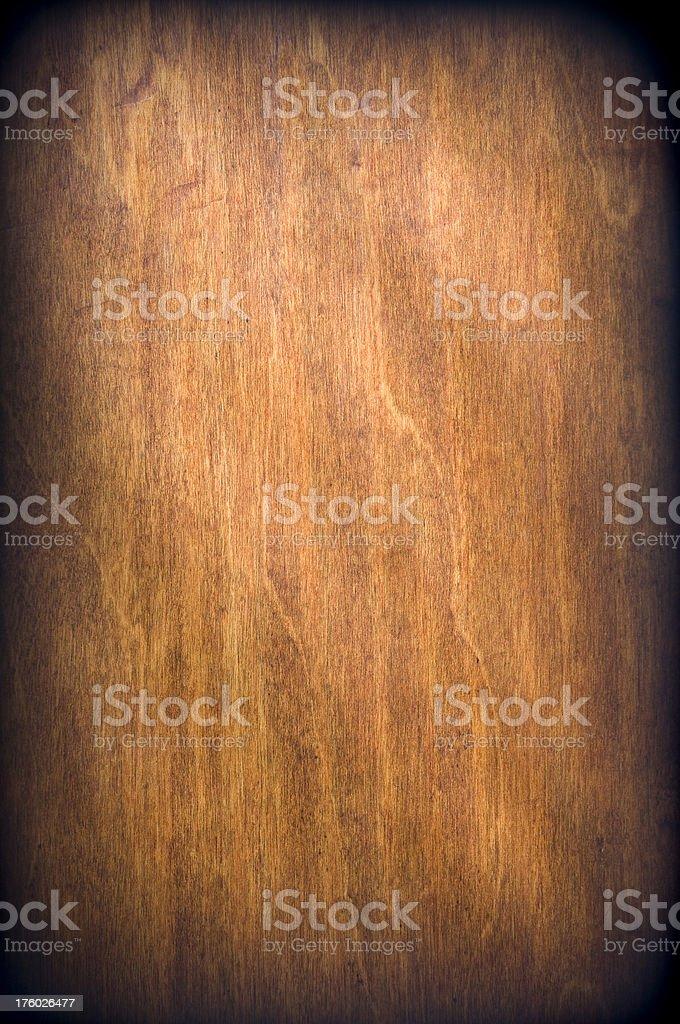 Hardwood Vignette royalty-free stock photo