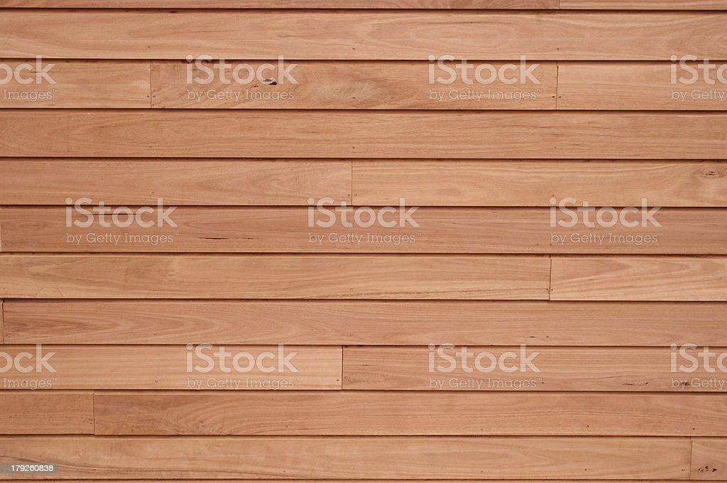Hardwood wall panelling stock photo