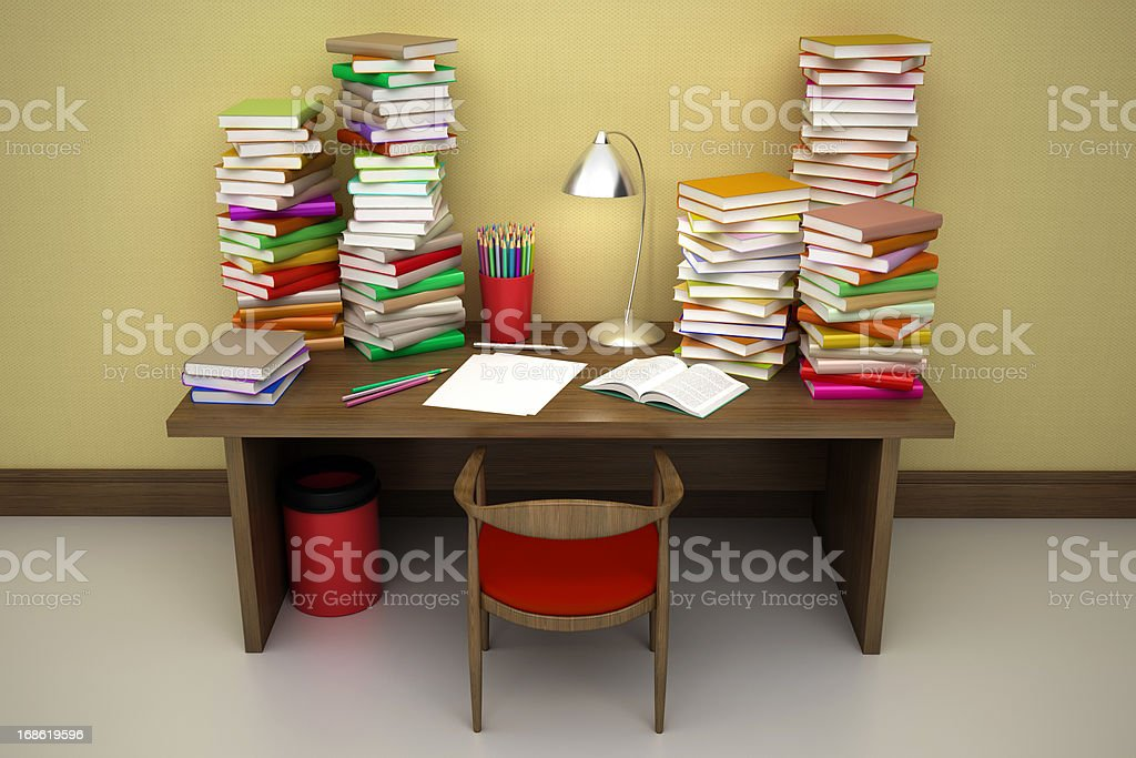 Hardworking area royalty-free stock photo
