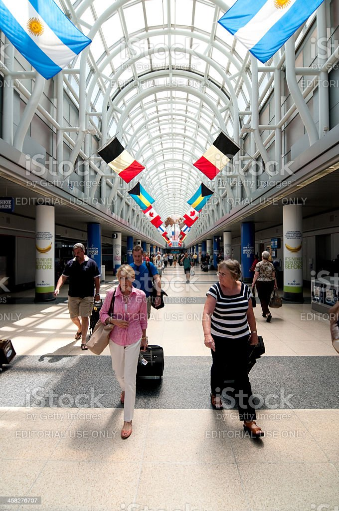 O'Hare Airport royalty-free stock photo