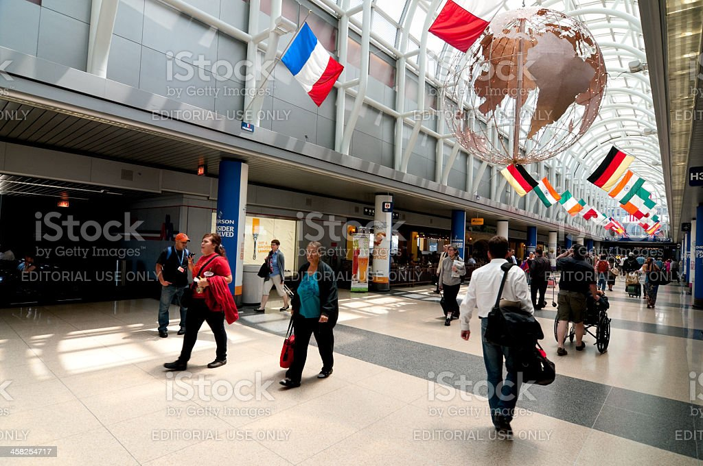 O'Hare International Airport royalty-free stock photo