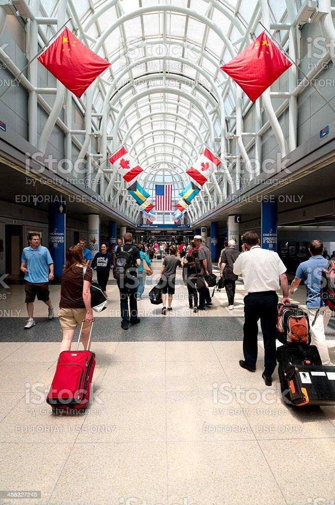 O'Hare International Airport royalty-free stock photo