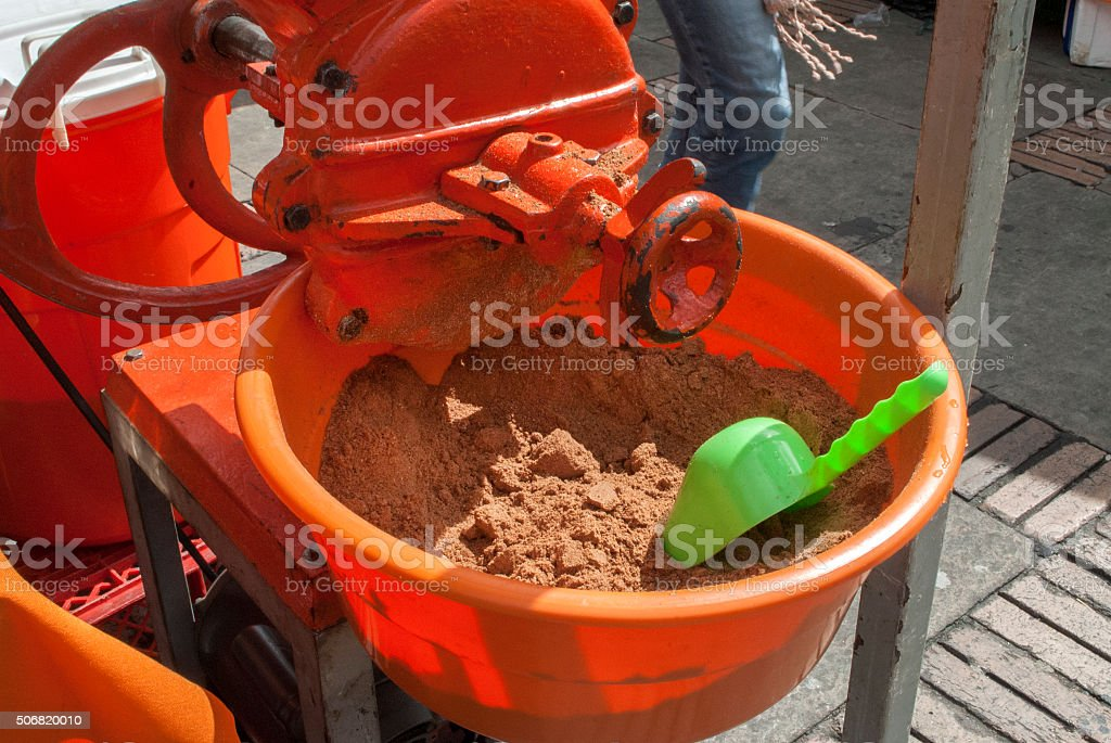 harina para alimentos stock photo
