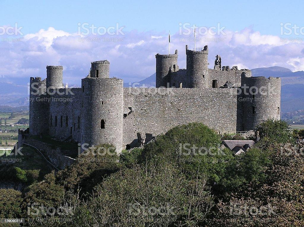 Harlech Castle royalty-free stock photo