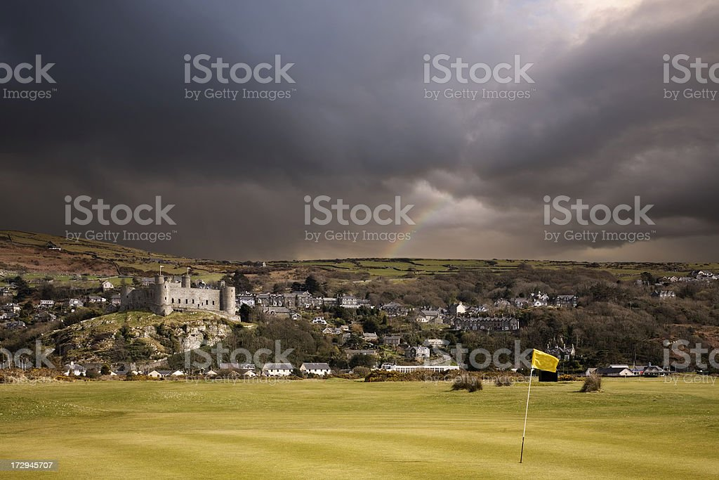 Harlech royalty-free stock photo
