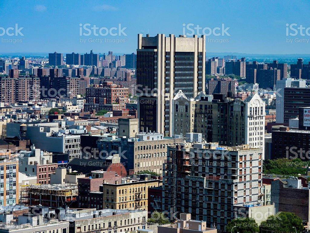 Harlem Cityscape stock photo