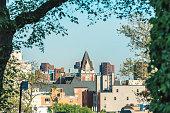 Harlem Skyline at New York, Seen from Morningside Park