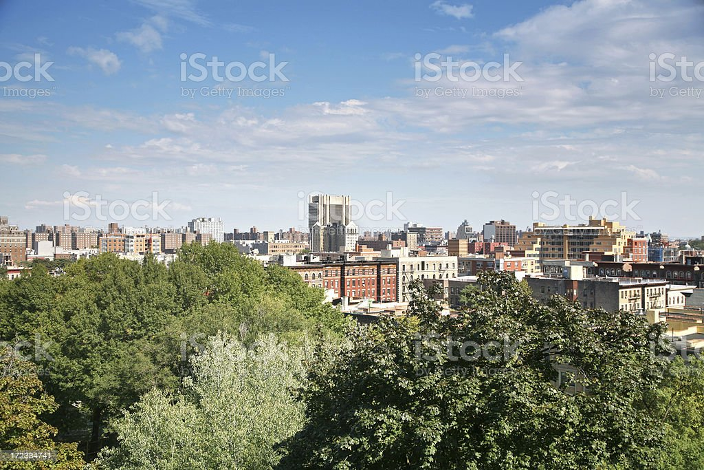 Harlem Skyline stock photo
