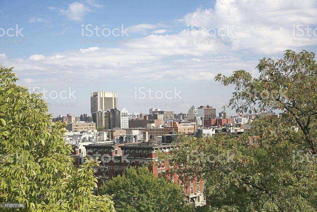 Harlem Skyline stock photo
