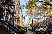 Harlem street view, West 130th, Lenox and 5th ave. G