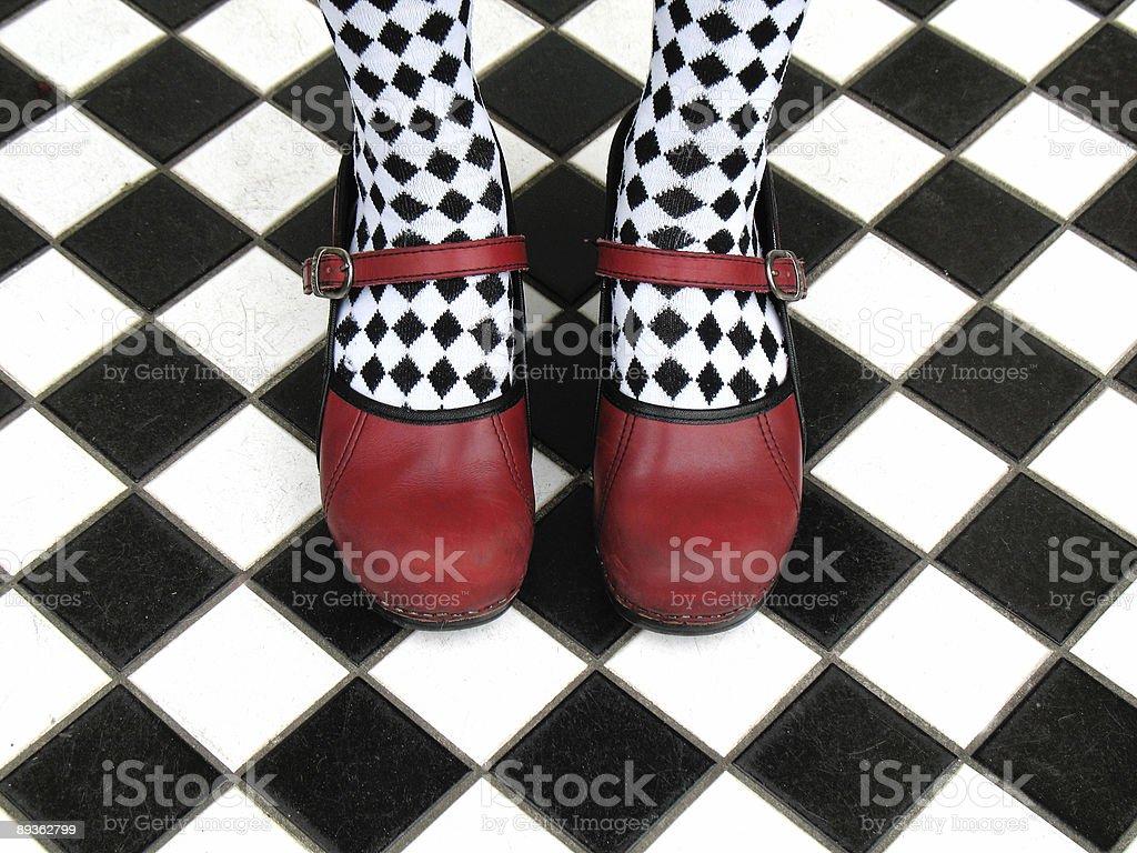 Harlequin Day stock photo
