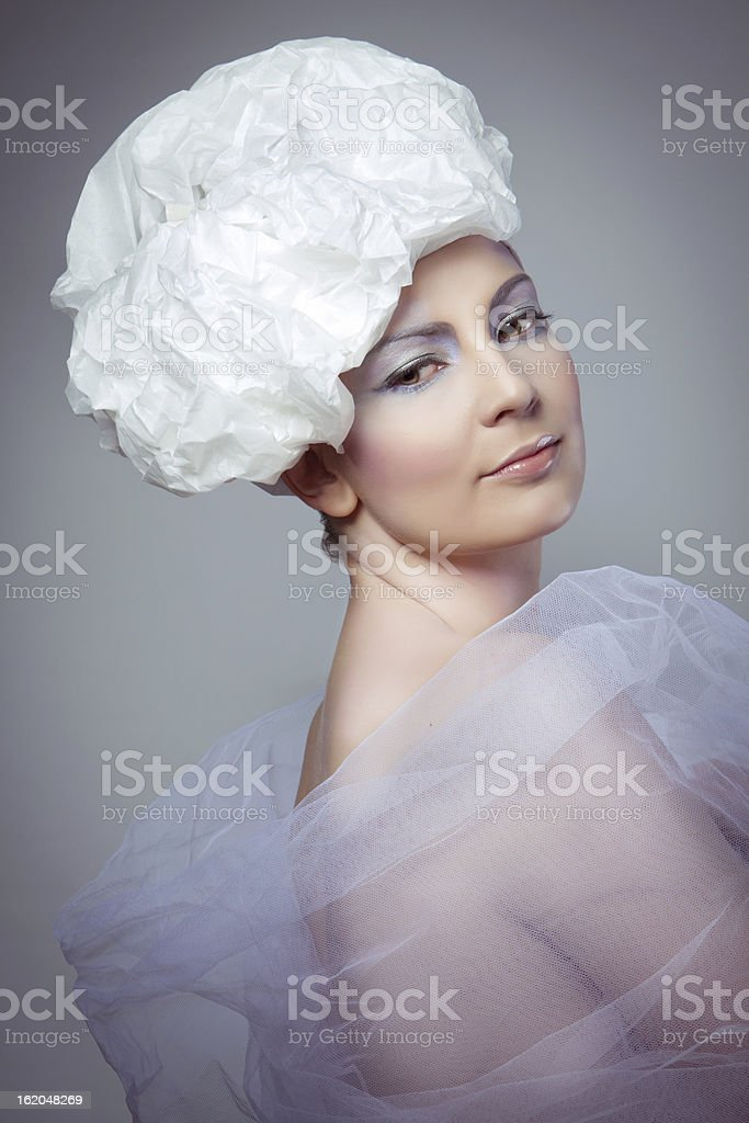 Harlequin royalty-free stock photo