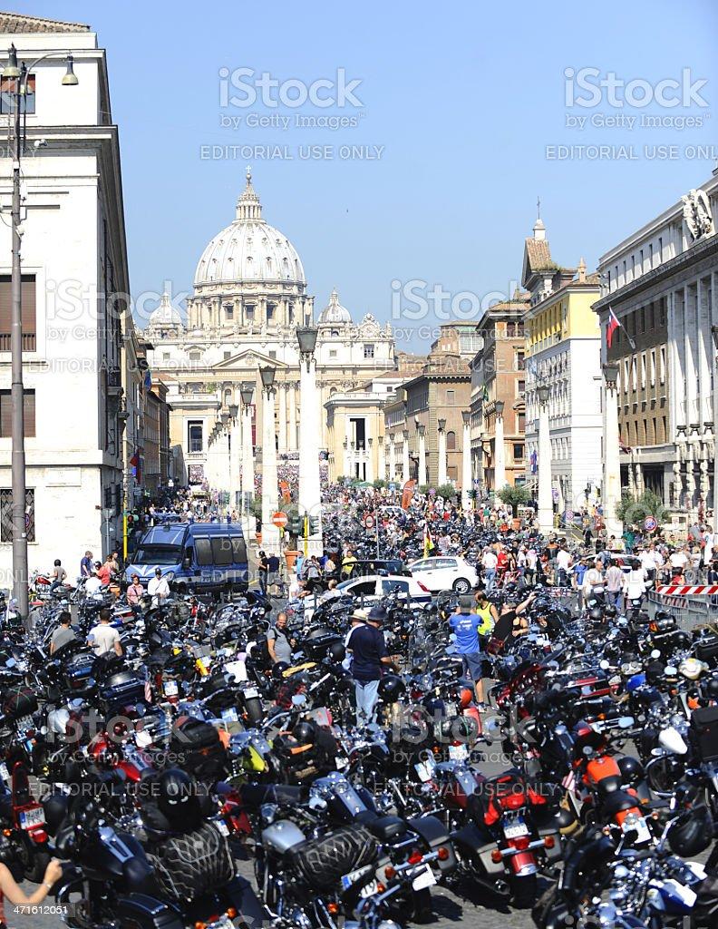 Harley Davidson - 110th anniversary celebrations royalty-free stock photo