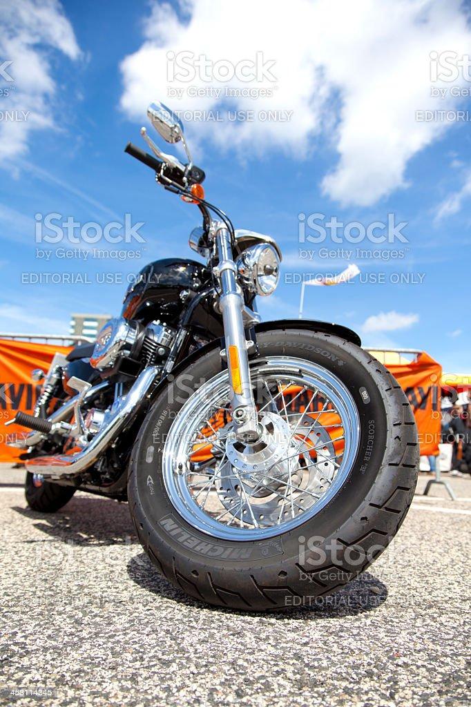 Harley Davidson Event stock photo