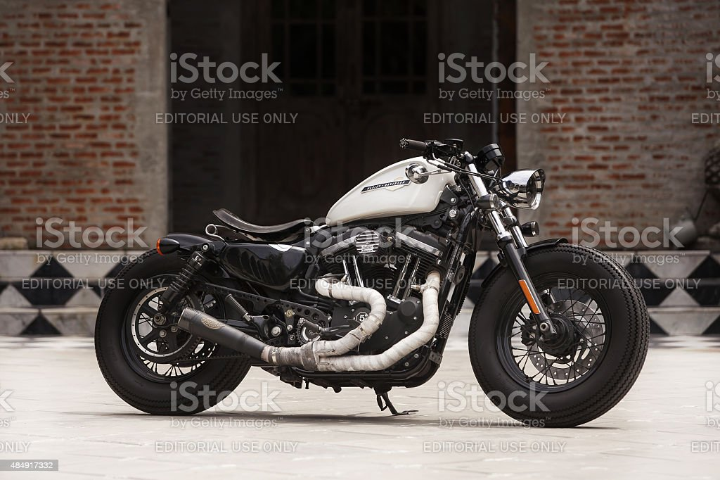 Harley Davidson Forty-Eight. stock photo