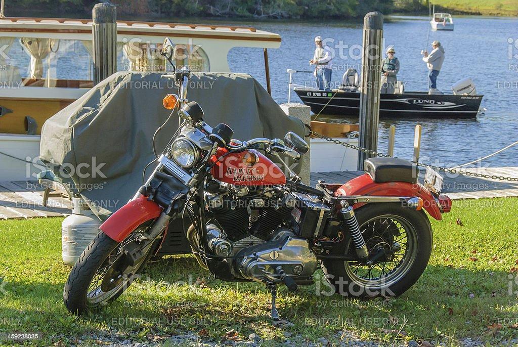 Harley Davidson Sportster XLH 203 stock photo