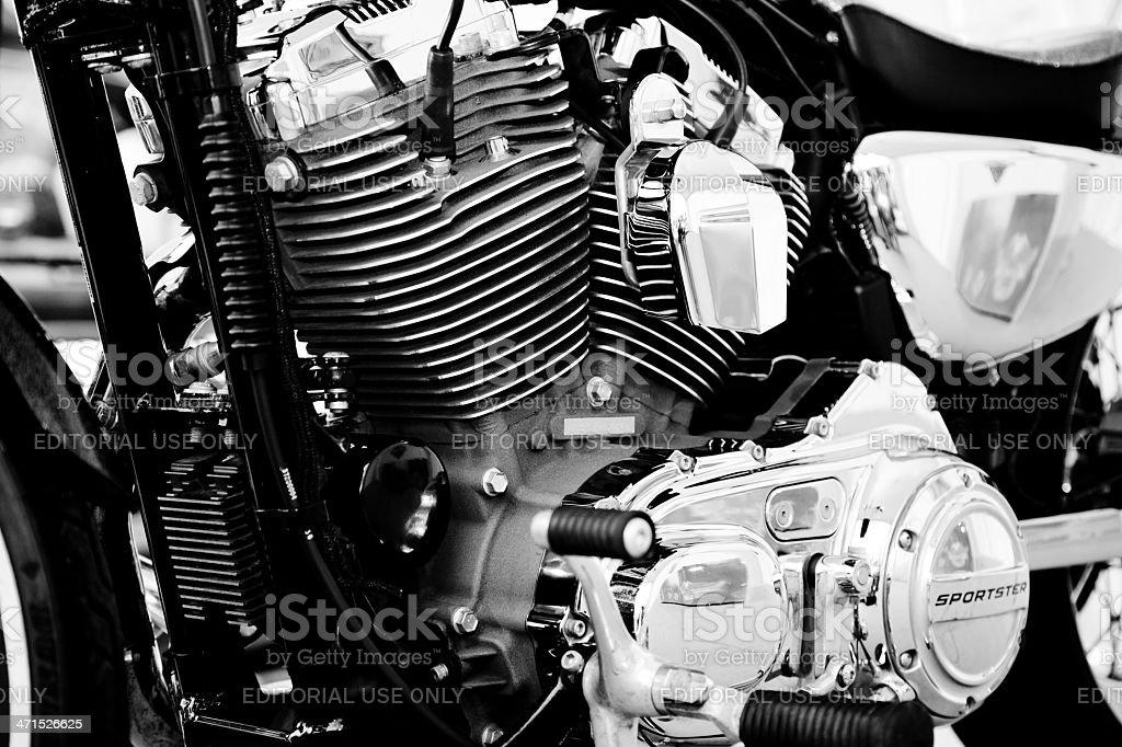 Harley stock photo