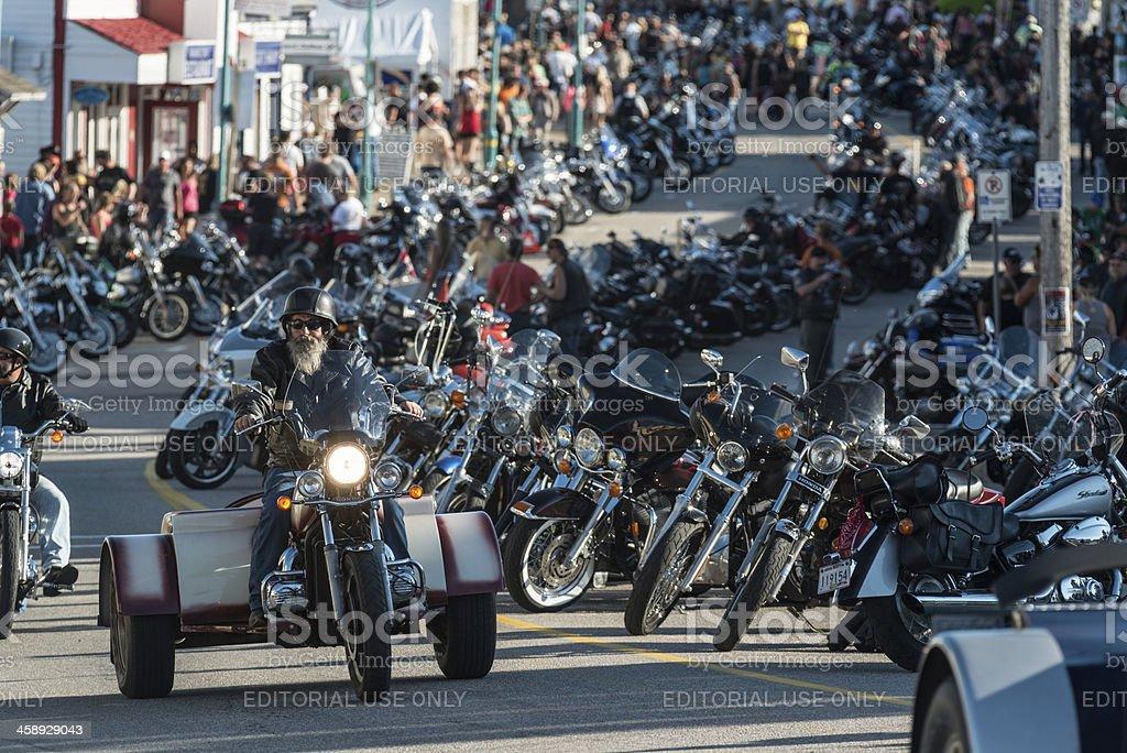 Harley Trike stock photo