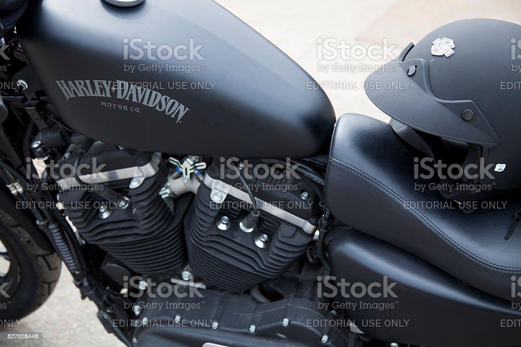 Harley-Davidson Motor stock photo
