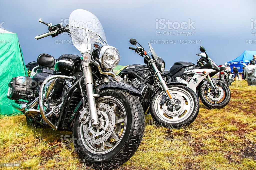 Harley-Davidson stock photo