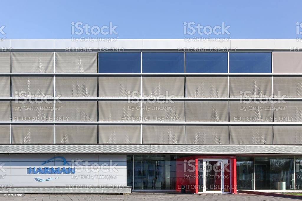 Harman office and building stock photo