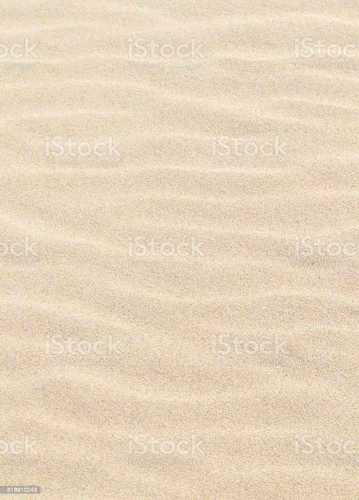 harmonic pattern of sandy beach stock photo