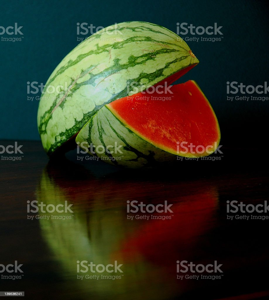 Harmonic Watermelon stock photo