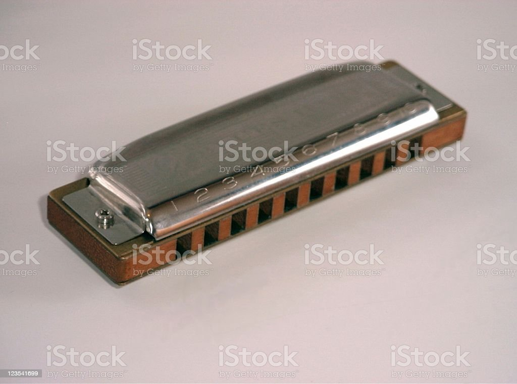 Harmonica is inviting you royalty-free stock photo