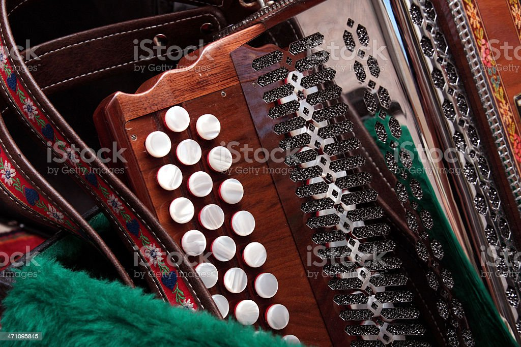 Harmonica royalty-free stock photo