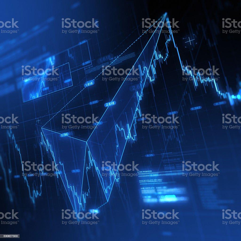 Harmonics Trading stock photo