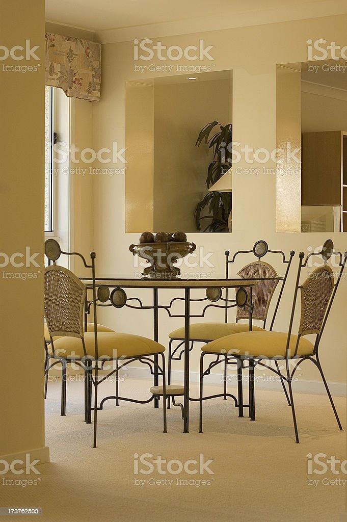 Harmonious Dining stock photo
