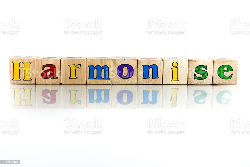 harmonise stock photo