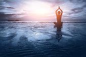 harmony background, body, mind and spirit