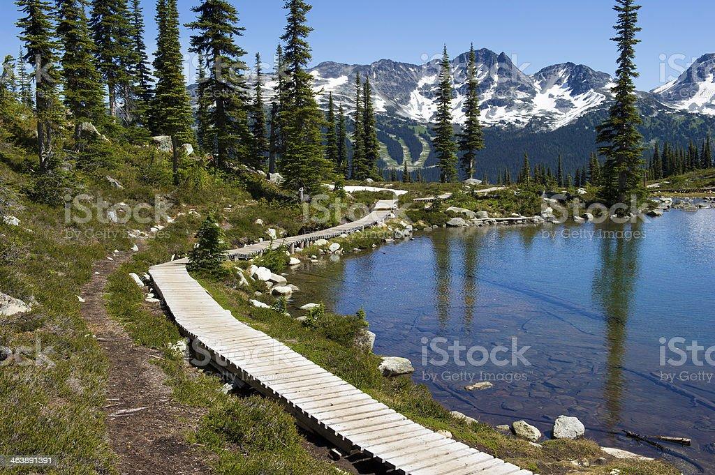 Harmony Lake royalty-free stock photo