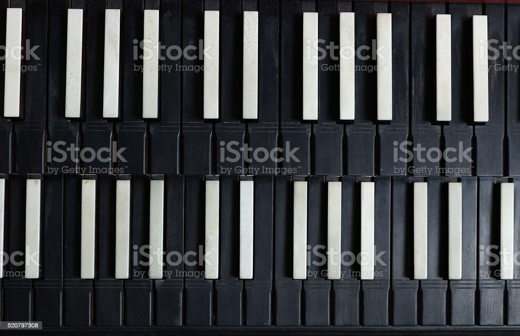 Harpsichord instrument stock photo