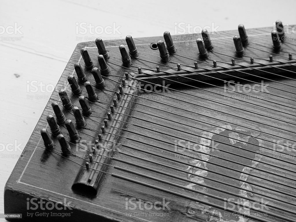 Harpsichord stock photo