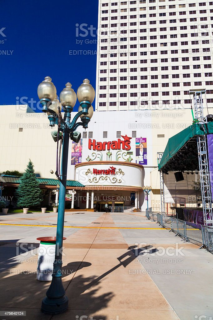 Harrahs casino in Reno stock photo
