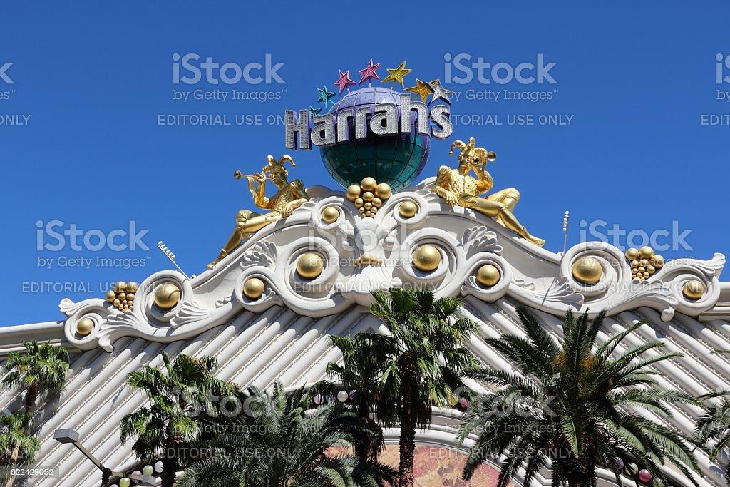 Harrah's Casino stock photo