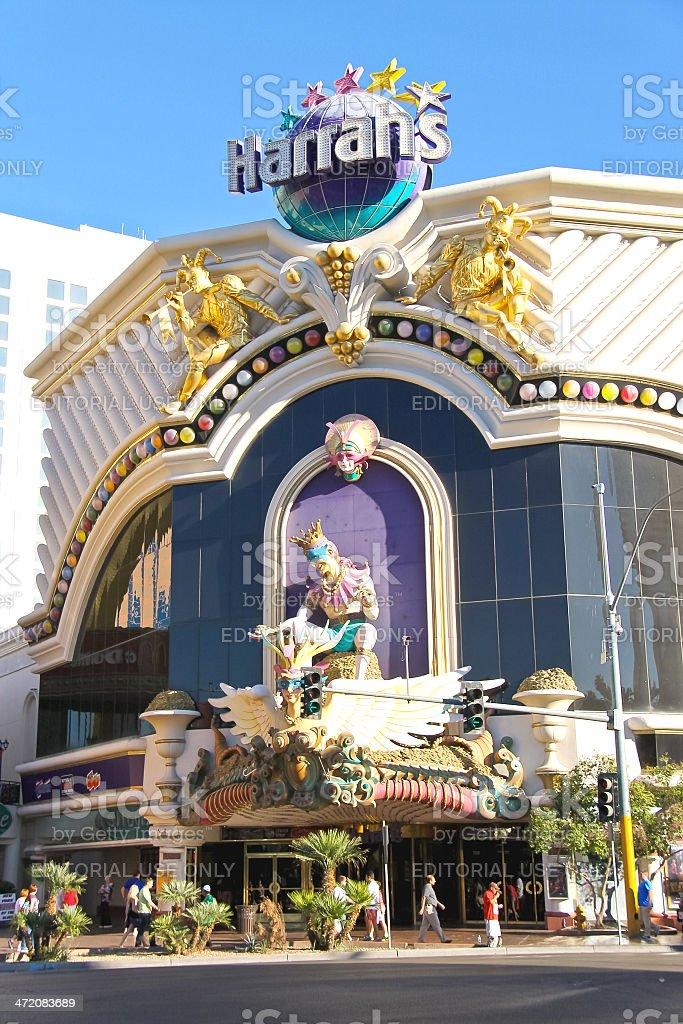 Harrah's Hotel and Casino   in Las Vegas stock photo