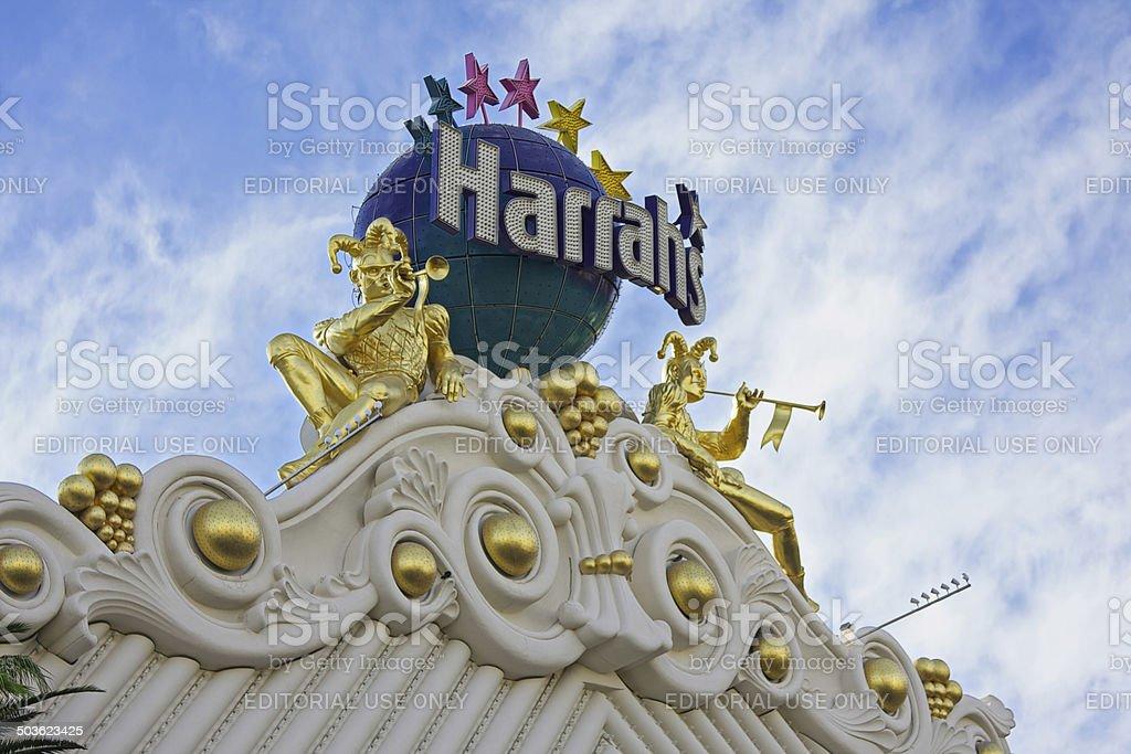 Harrah's Hotel and Casino Las Vegas stock photo