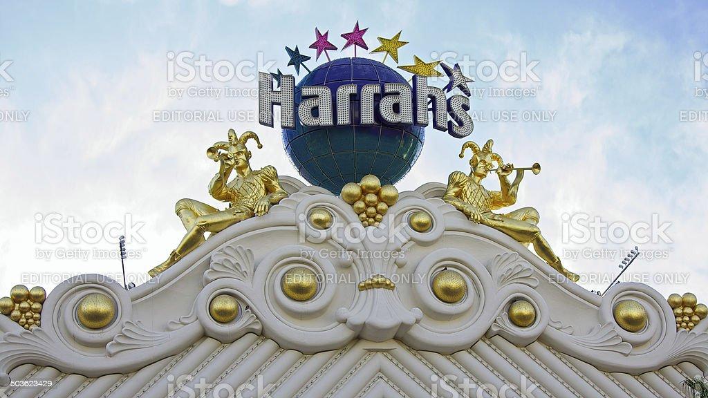 Harrah's Hotel and Casino Las Vegas royalty-free stock photo