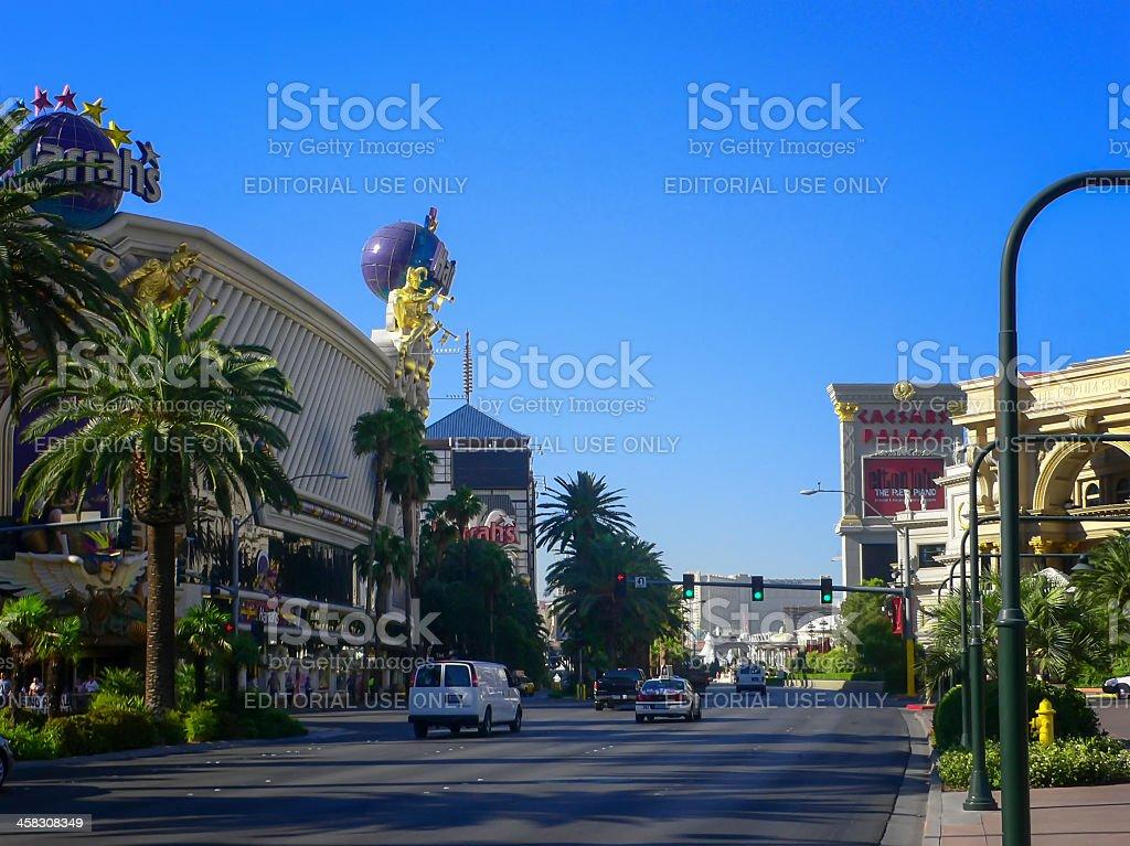 Harrah's Hotel Casino Shops Las Vegas Strip stock photo