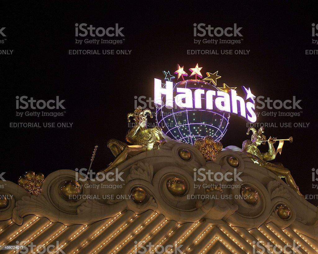 Harrahs Hotel stock photo