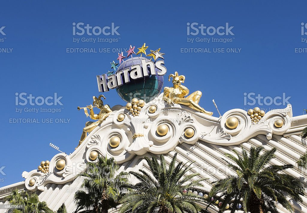 Harrahs Las Vegas stock photo