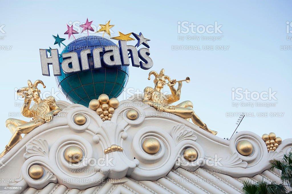 Harrah's Las Vegas stock photo