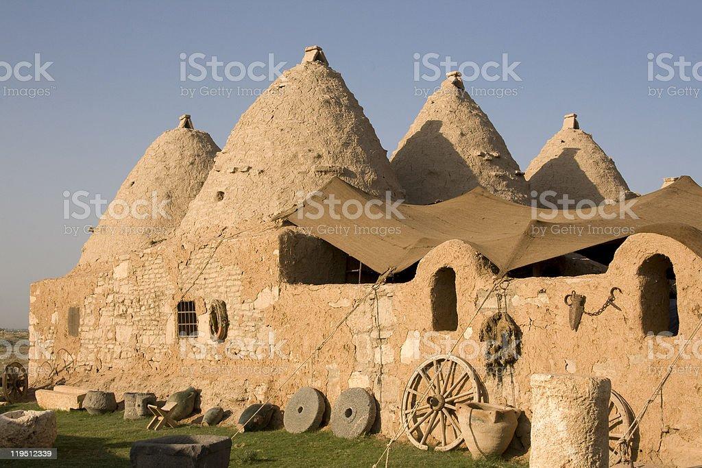 Harran, conical houses - Anatolia royalty-free stock photo