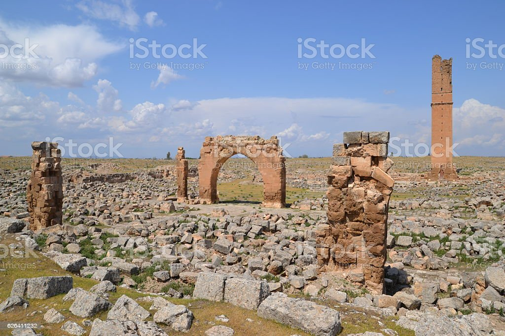 Harran, First University Of The World stock photo