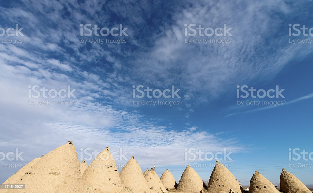 Harran Houses, Sanliurfa, Turkey royalty-free stock photo
