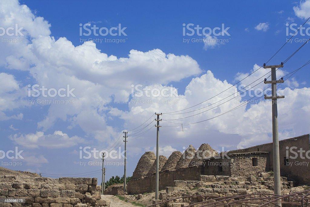 Harran Houses, Sanliurfa, Turkey royalty-free stock photo