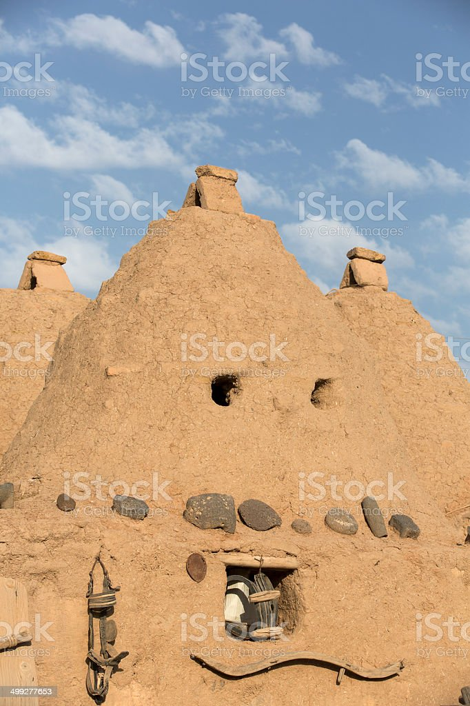 Harran Houses, Sanliurfa, Turkey stock photo